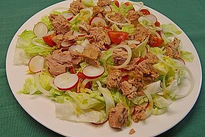 Blattsalat nach italienischer  Art 1