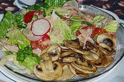 Blattsalat nach italienischer  Art 6
