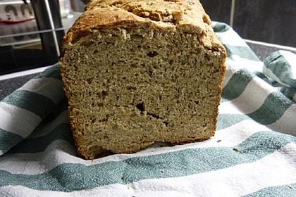 Buttermilch-Mehrkornbrot für den Brotbackautomat (Bild)