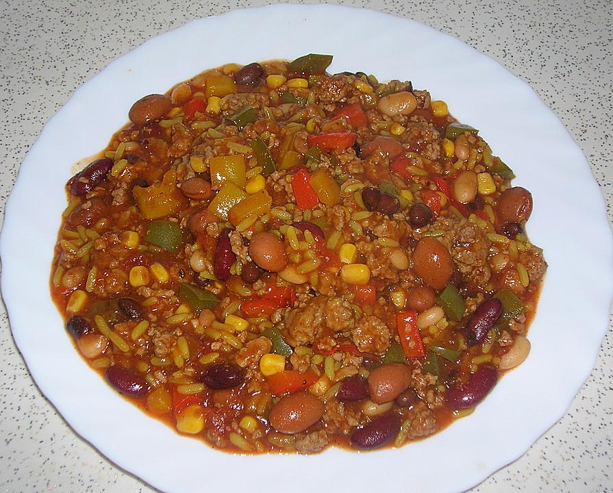 Chili Con Carne Mit Reis Von Bastelsuse Chefkochde
