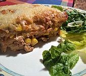 Mells mexikanische Enchilada-Lasagne (Bild)