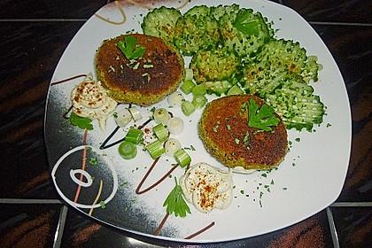 Vegetarische Gemüseküchle 1