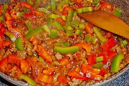 Reis-Hackfleischpfanne mit Paprika 15