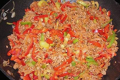 Reis-Hackfleischpfanne mit Paprika 12
