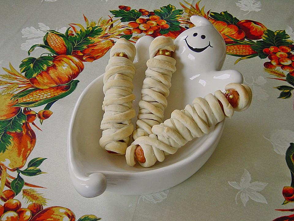 Mumien Zu Halloween Von Pumpkin Pie Chefkoch