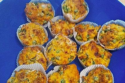 Herzhafte Salami-Gemüse-Muffins 3