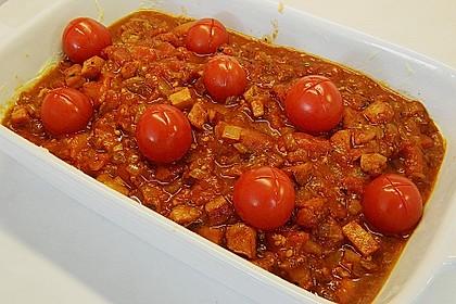 Feiner Fisch trifft reife Tomate