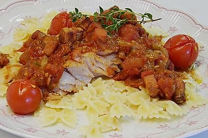 Feiner Fisch trifft reife Tomate 1