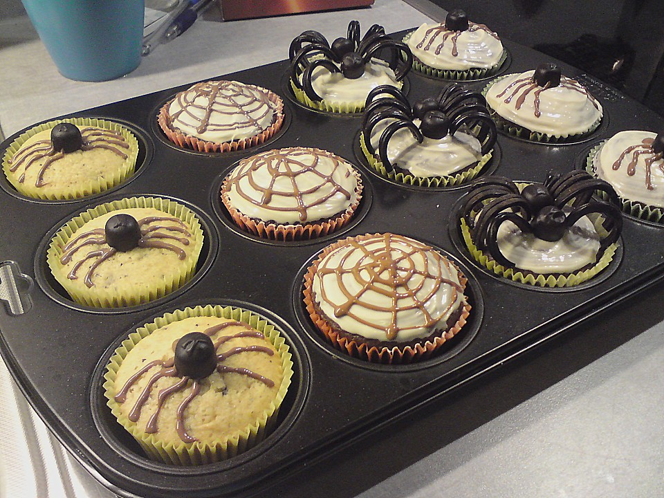 Halloween Muffins Von Muffin Bakery Chefkoch De