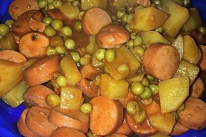 Räubertopf mit Wiener Würstchen 6