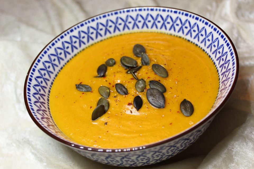 Kürbissuppe mit Kokos von badegast1 | Chefkoch
