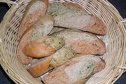 Grillbrot in italienischen Farben 24