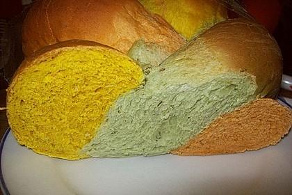 Grillbrot in italienischen Farben 5