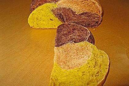 Grillbrot in italienischen Farben 15