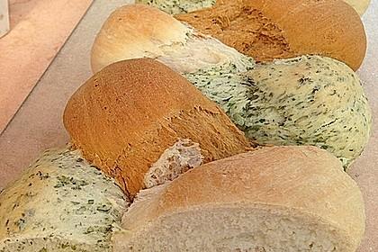 Grillbrot in italienischen Farben 29