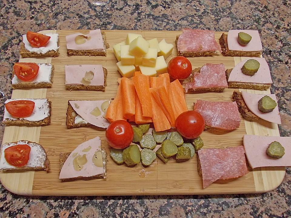 Buntes Abendbrot Für Kinder Von Badegast1 Chefkochde