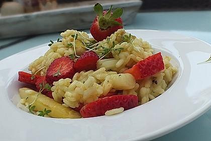 Spargel-Erdbeer-Risotto 1