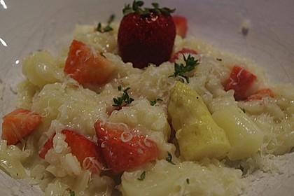 Spargel-Erdbeer-Risotto 7