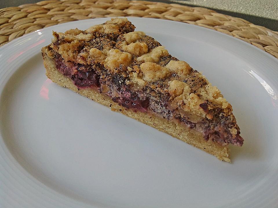 Kirsch Mohn Kuchen Von Gloryous Chefkoch De