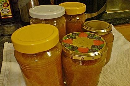 Gelbe Kirschen-Nektarinen-Marmelade