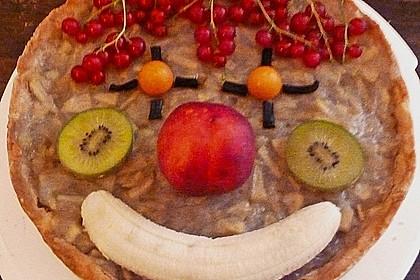 Apfeltorte ohne Zucker