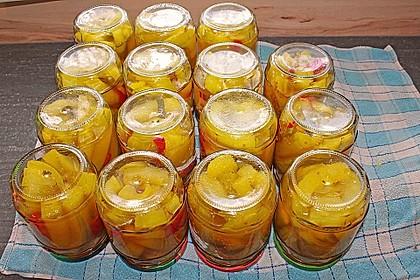 Zucchini süß sauer mit Kurkuma 4
