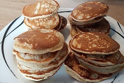 Bananen-Pancakes (Bild)