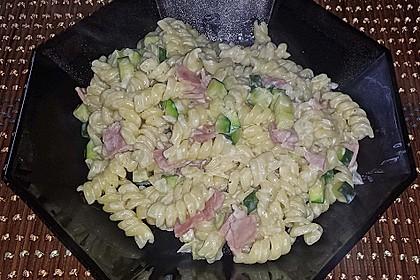 Die berühmten Zucchini-Frischkäse-Nudeln 7
