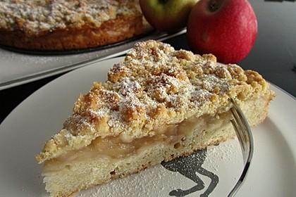 Apfelmus-Streusel-Blechkuchen (Bild)