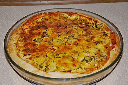 Zucchini Quiche 1