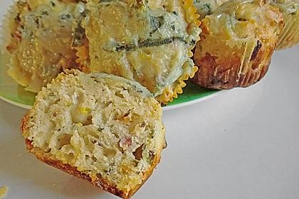 Zwiebel-Käse Muffins