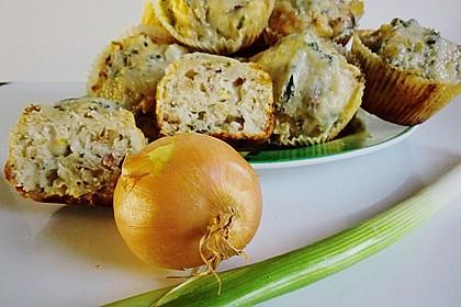 Zwiebel-Käse Muffins 1