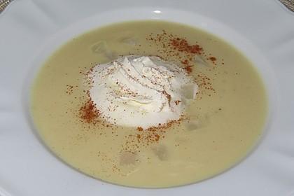 Kohlrabi-Zimt-Suppe (Bild)