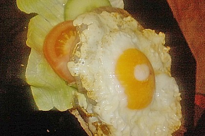 "Belegtes Brot ""Holzfäller"""