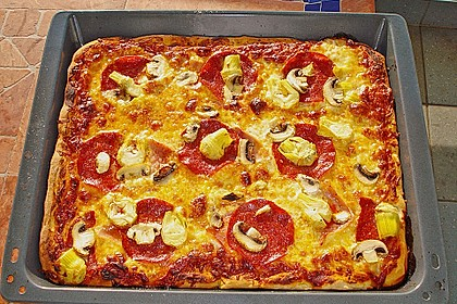 Der ultimative Pizzateig (Bild)