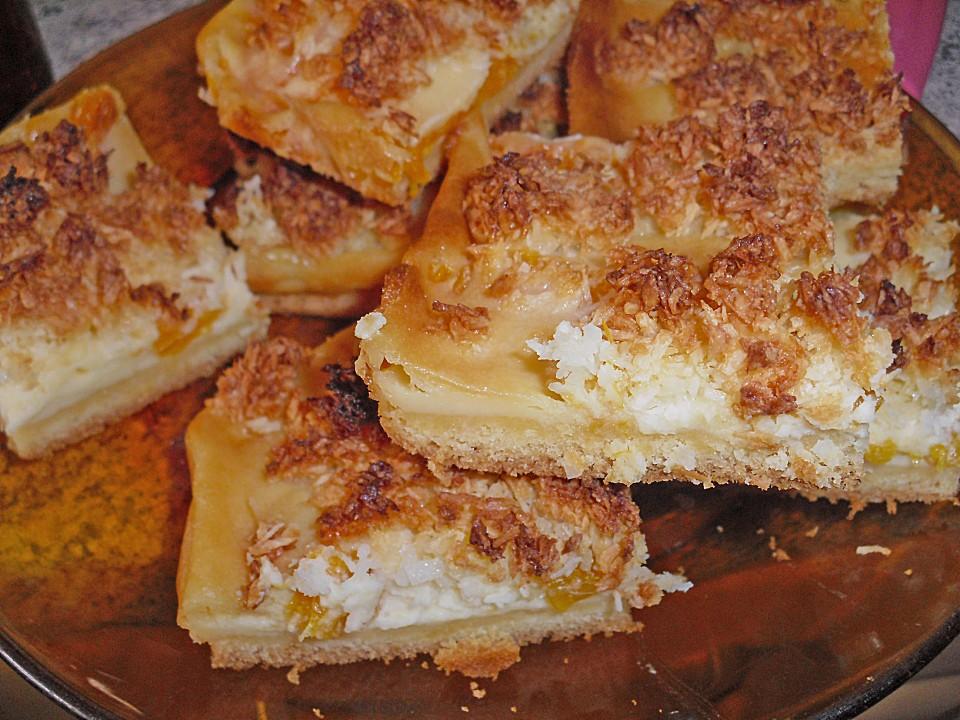 Schmand Mandarinen Kuchen Auf Dem Blech Von Pummelmama Chefkoch De