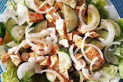 Gurkensalat mit Feta und Minze 17