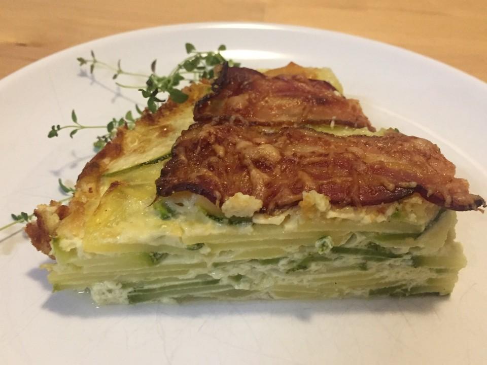 Deftiger Kartoffel Zucchini Kuchen Von Tiggerib Chefkoch De