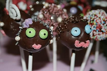 Schokoladen Cake-Pops 1