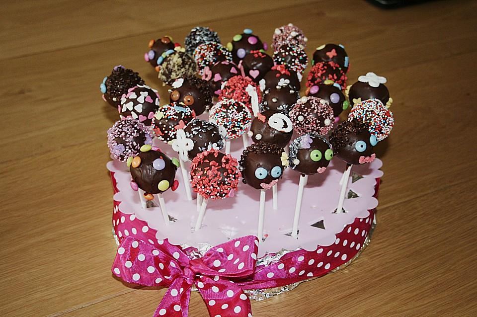 Schokoladen Cake Pops Von Terpsychore Chefkoch