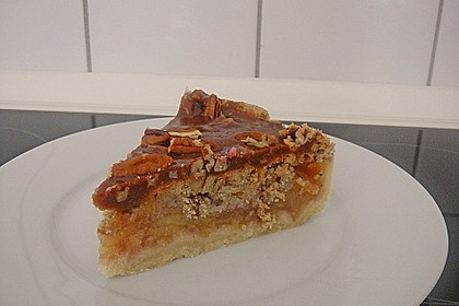 Caramel Apple Pie mit Pecannüssen