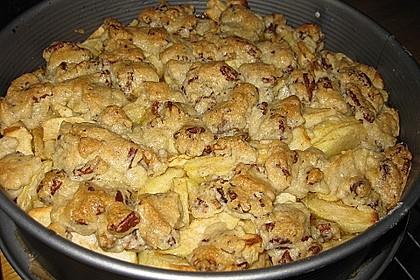Caramel Apple Pie mit Pecannüssen 5