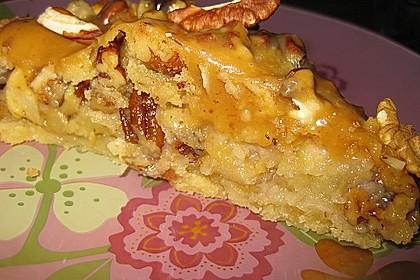 Caramel Apple Pie mit Pecannüssen 6