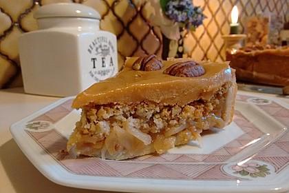 Caramel Apple Pie mit Pecannüssen 3
