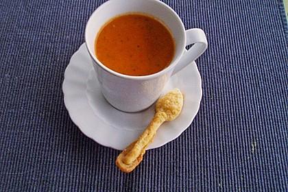 Paprika-Tomatencreme-Suppe 8