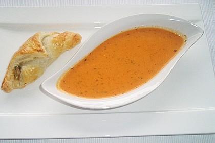 Paprika-Tomatencreme-Suppe 9