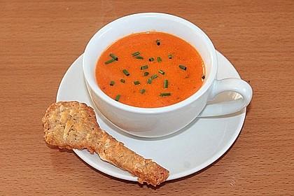 Paprika-Tomatencreme-Suppe 10