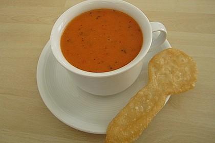 Paprika-Tomatencreme-Suppe 2