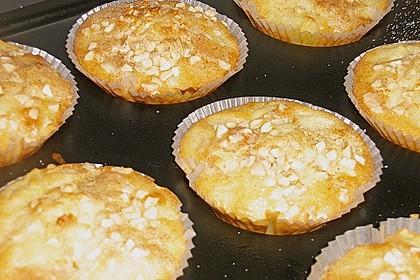 Apfel-Mandel Muffins mit Zimtguss von Sarah 2