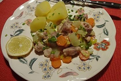 Fisch-Gemüsepfanne à la Gabi (Bild)